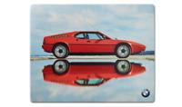 Neuf Authentique BMW M1 Ordinateur Tapis de Souris Plastique Revêtu Surface
