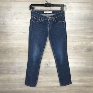 "J Brand Women's Size 24 The Skinny Jean Dark Wash ""Ink"" Denim 25"" Inseam"