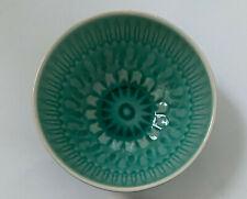 WAITROSE Jade Green Textured Patterned Small Bowl