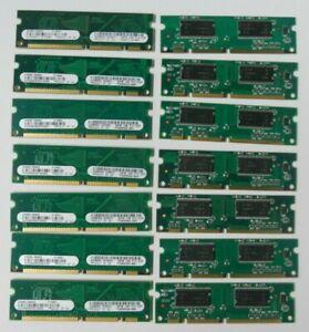 Fourteen HP LaserJet 2400 32MB DDR 100P Memory Q3982-60003 Q3982AX