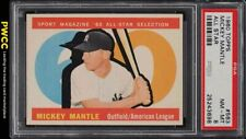 1960 Topps Mickey Mantle ALL-STAR #563 PSA 8 NM-MT (PWCC)
