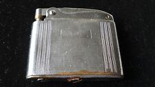 RARE VINTAGE WHITEHALL DELUXE AUSTRIAN CHROME ENGINE TURNED LIGHTER -COLLECTABLE