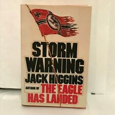 STORM WARNING by Jack Higgins (1976, Hardcover)
