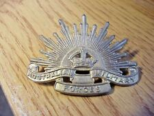 Vintage Australian Commonwealth Military Forces Pin Badge