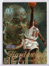 TIM HARDAWAY 1997-98 Flair Showcase Row 1 #45 ($.50 SHIPPING)