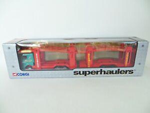 CORGI 65801 'RENAULT CAR TRANSPORTER, BEAMISH TRANSPORT. 1:64. SUPERHAULERS. MIB