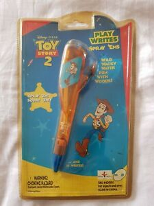 TOY STORY 2 Pen WOODY - PLAY WRITES Spray 'EMS- rare/vintage/collectible New