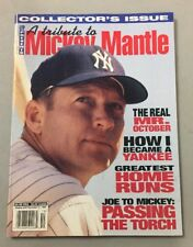 1995 LFP COLLECTORS ISSUE A TRIBUTE TO MICKEY MANTLE MAGAZINE