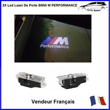 2 Led Laser Logo Lumiere Porte Projecteur Badge Insigne Tuning Compatible Bmw M