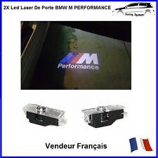 2X Led Laser Logo De Porte Projecteur Badge Insigne Tuning Compatible Bmw M