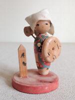 2.5 inch Japanese VTG Sosaku Kokeshi Doll : from Yashima : made in around 1955
