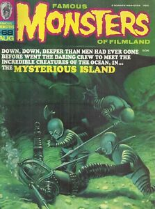 Famous Monsters of Filmland August 1970 #68