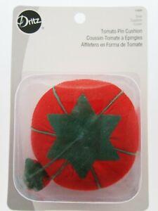 Dritz ~ Tomato Pin Cushion ~ Nostalgic Sewing Needle Holder Sew