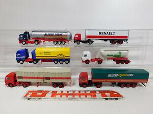 CL97-1 #6x Herpa H0 / 1:87 Truck MB: Talke + DB + Kirn + Renault Etc,Light