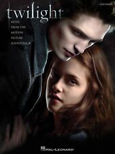 TWILIGHT MOVIE EASY PIANO SHEET MUSIC SONG BOOK