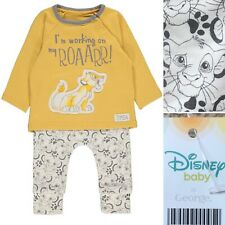 Primark Baby THE LION KING SIMBA Fleece All in One Sleepsuit 12-18 Months New