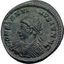 CONSTANTINE II Junior 321AD London Londinium Authentic Ancient Roman Coin i64052