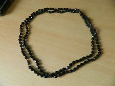 necklace, 44 inches Edwarduian french jet