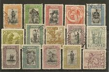 PAPUA 1932 PICTORIALS TO 10/- SG130/45 FINE USED