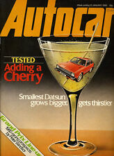 Autocar - 12th January 1980 Datsun Cherry Lancia Delta Triumph 2000/2500 Beaufig