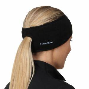 Women's Ponytail Headband - Fleece Earband