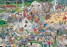 The Zoo Jan van Haasteren 1000 Piece Cartoon Comic Animal Jigsaw Puzzle by Jumbo