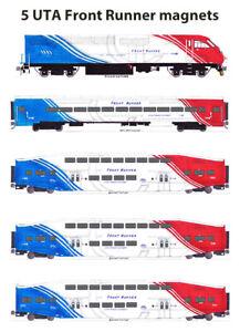 UTA Utah Transit Authority Front Runner Commuter Train 5 magnets Andy Fletcher
