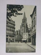 Avignon  France Vintage B&W Postcard  c1960 Clocher de l'Eglise de St-Pierre