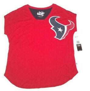 NFL Houston Texans Women's Touch by Alyssa Milano Fine Mesh Jersey Sm