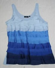 APT. 9 WOMEN'S SLEEVELESS TIERED TOP~ SIZE L~ LINED