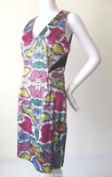 VERONIKA MAINE  Sleeveless Sheath Dress Size 10  US 6 Made in Australia