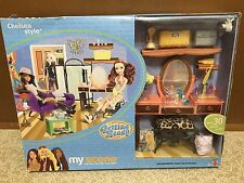 Barbie Doll My Scene Chelsea Style Room Getting Ready Playset Rare