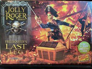 Lindberg Jolly Roger Series The Freebooter's Last Leg 1:12 scale model kit