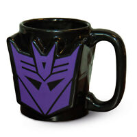 Transformers G1 (Decepticon Shield)  Shaped Coffee / Tea Mug SCMG2436111oz