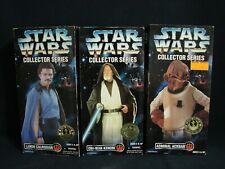 Star Wars Collector Series OBI-Wan Kenobi Lando Calrissian Admiral Ackbar Lot