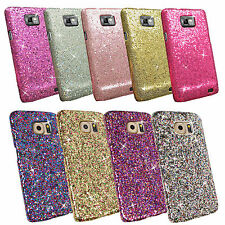"""Bling Glitter Sparkling Sequin Textured Cover Case for Various Mobile Phone Samsung iPhone 6 (4.7"""") Rainbow Gold"""