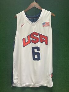 Lebron James 2012 Team USA Authentic Jersey. Size XL (Fits Smaller)
