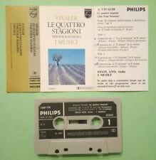 MC Musicassetta VIVALDI Le Quattro Stagioni musici Felix Ayo four seasons no lp