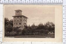 643/V158 FOTO CARTOLINA MONTEVECCHIO VARESE VILLA RICCI 1904 1911