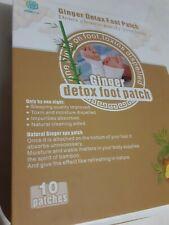 Ginger Detox Foot Patch 10PCS/ Box