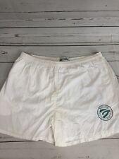 Vintage 80s Duffel White Bathing Suit Size XL USA