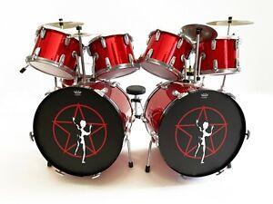 Neil Peart Rush 2112 Starman Drum Set ReplicaMini Drum Kit
