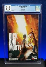 Rick And Morty #16 CGC 9.8 Last Of Us Homage Variant HBO Adult Swim SDCC NM+/MT