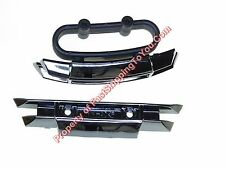 Traxxas E-Revo 1/10 Black Chrome F&R Bumper Kits 5335x brushless e-maxx