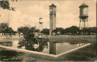 1910 CLOCK TOWER FORT SAM HOUSTON SAN ANTONIO TX POSTCARD.