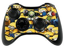 Minions Xbox 360 Control Remoto controller/gamepad Skin / Cover / Vinilo Wrap Xbr2
