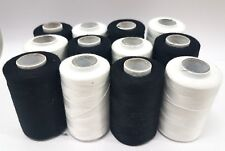 12 Large Spools Sewing Machine all purpose Threads for BROTHER,JANOME,GUTERMAN