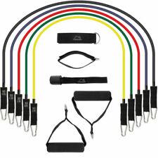 CampTeck 11 Kit de Bandas Elásticas de Resistencia para Fitness - Multicolor