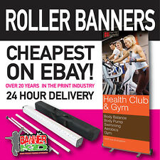 More details for roller banner stand-pop / pull / roll up 800mm-1500mm plain or printed (3)