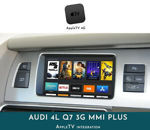 [2009 - 2014] Audi Q7 4L 3G MMI- AppleTV Integration